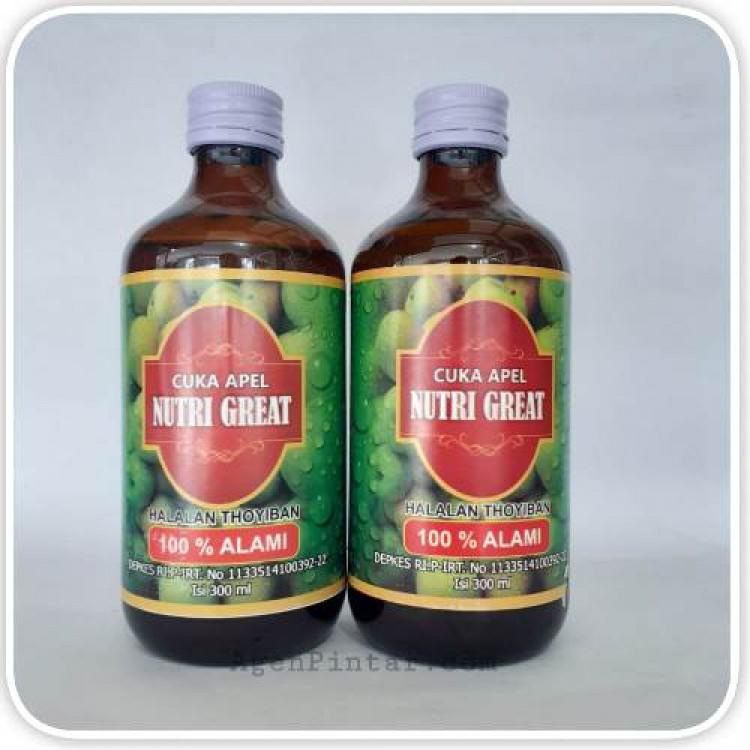 Cuka Apel Nutri Great 300ml